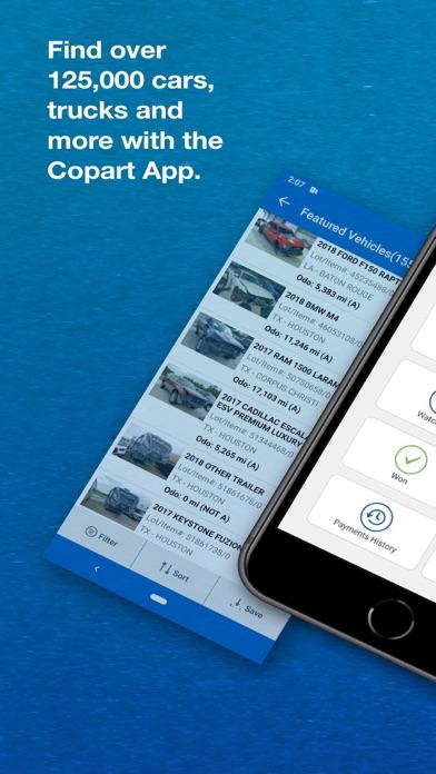 Screenshot #1 pour Copart - Salvage Car Auctions