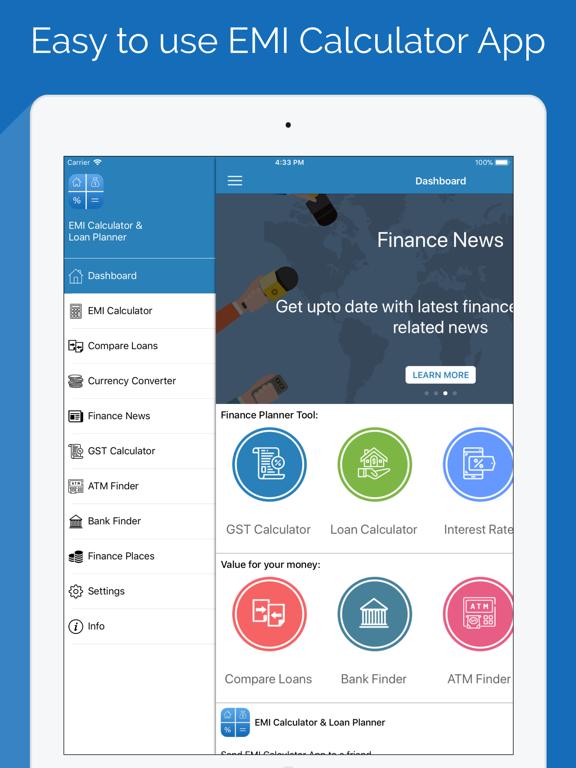 EMI Calculator & Finance PRO Screenshots