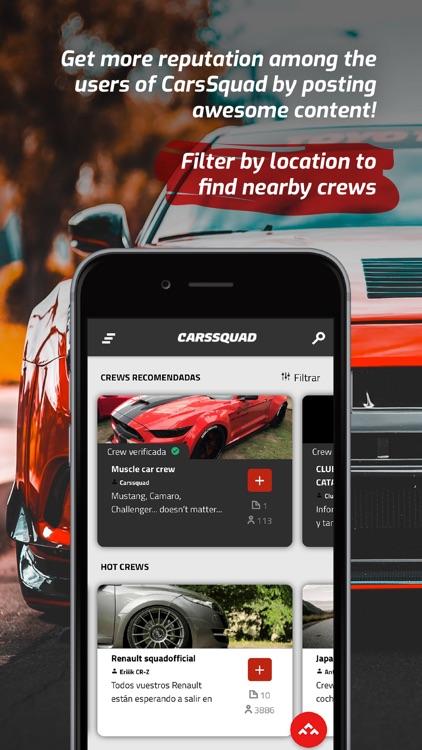 CarsSquad: Social network cars screenshot-6