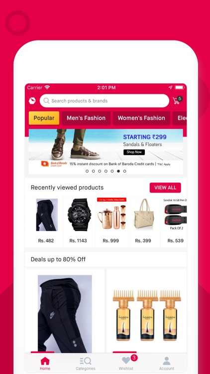 Snapdeal: Online Shopping App screenshot-0