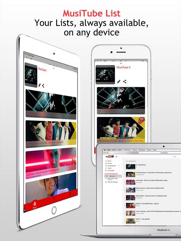 Musitube for YouTube Free Music Player of Videos screenshot