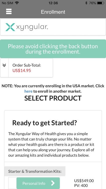 Xyngular Back Office screenshot-4