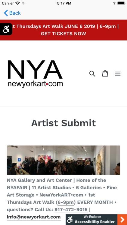 NYA | newyorkart.com screenshot-5
