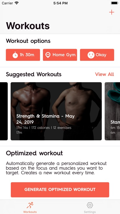 Optimize Fitness screenshot-0