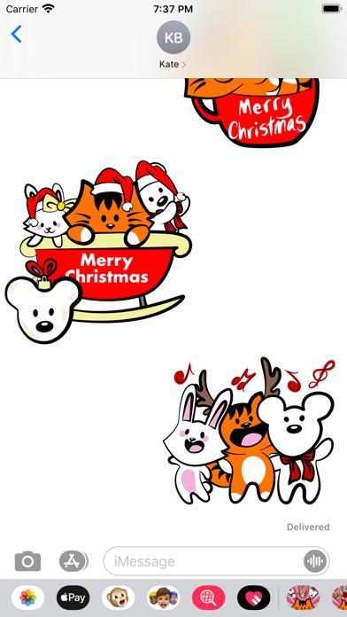 Kikimoji Cute Christmas screenshot 5