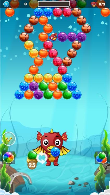 Bubble Shooter - Dragon World screenshot-5