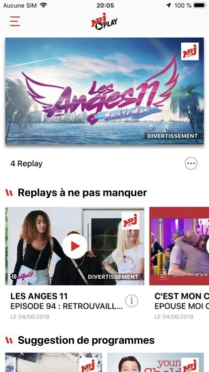 NRJ Play, en direct & replay screenshot-0