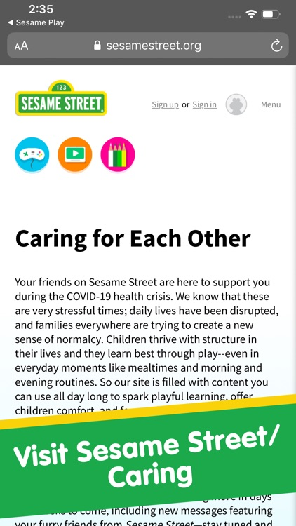Sesame Street: Family Play screenshot-5