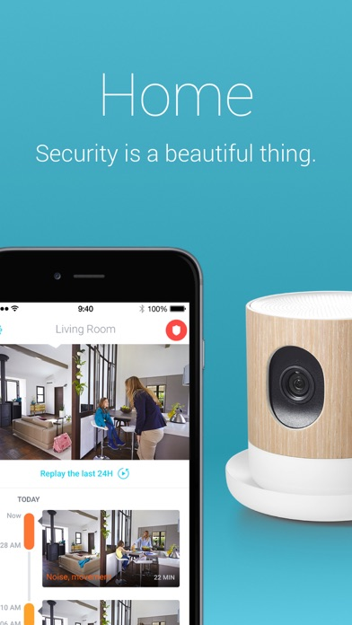 Withings Home Security Camera 1