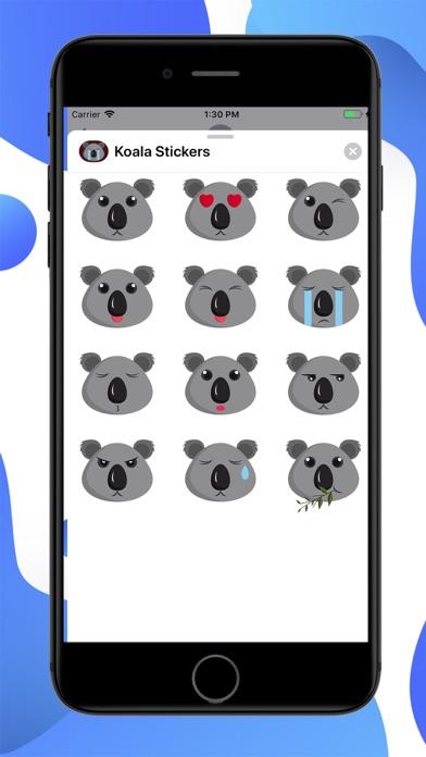 Koala Cartoon Stickers screenshot 1