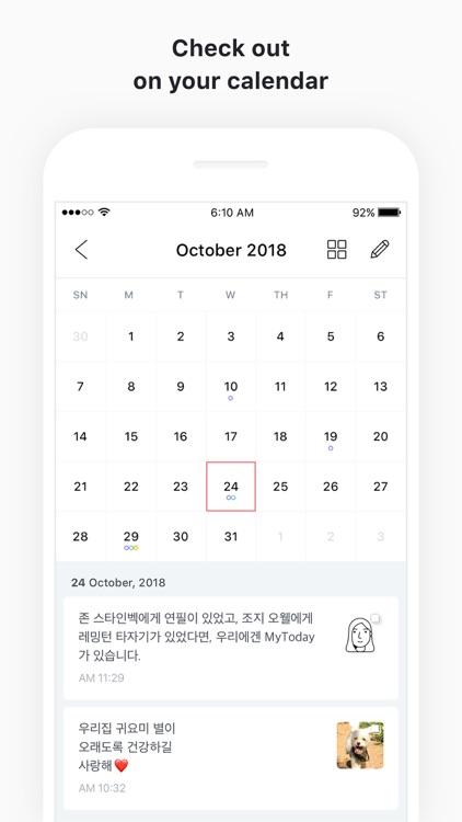 MyToday - Diary screenshot-3