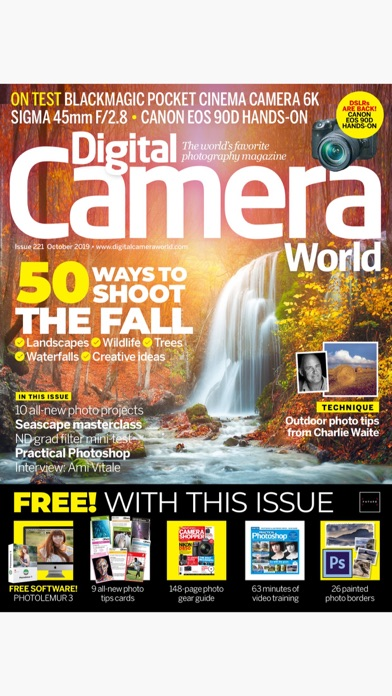 Digital Camera World review screenshots