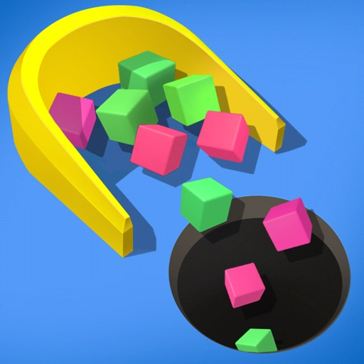 Fill Cubes - Clean Pool Road iOS App