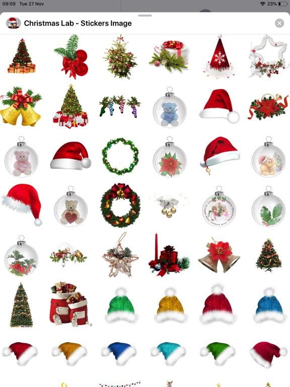Screenshot #6 pour Christmas Lab - Stickers Image