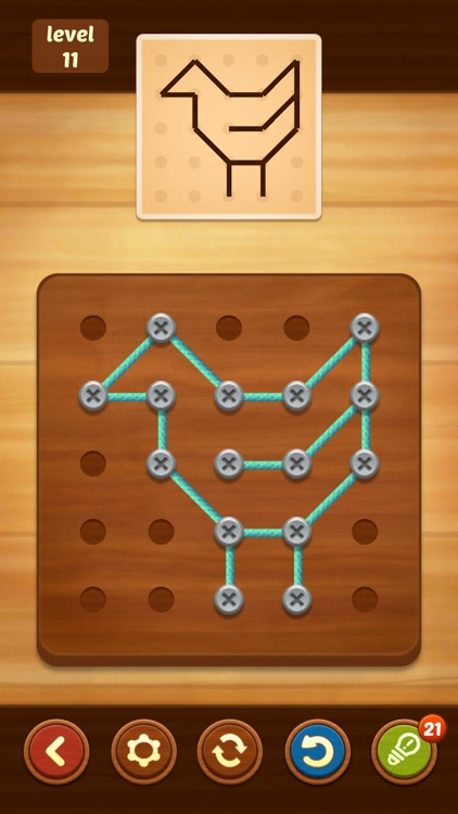 Line Puzzle: String Art screenshot-3