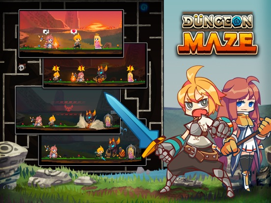 Dungeon Maze.io screenshot 14