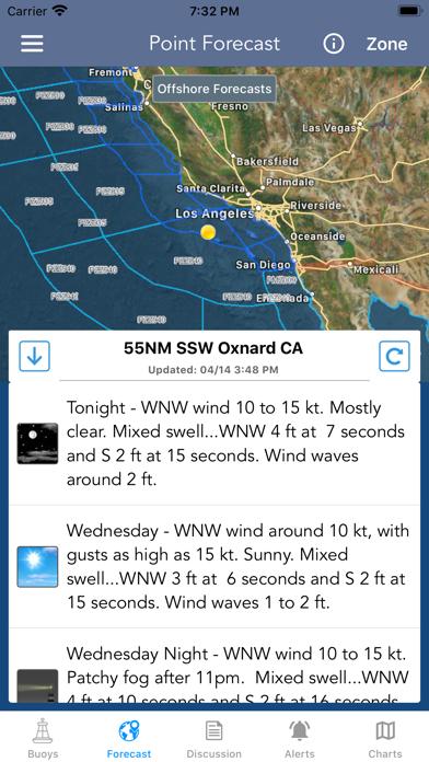 Marine Weather Forecast Pro Screenshot
