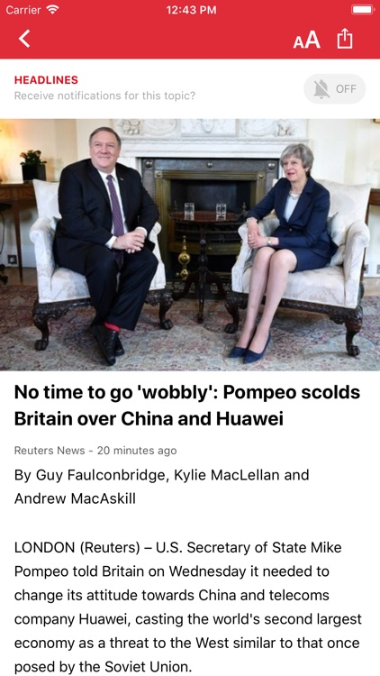 Headlines: Live Breaking News screenshot-3