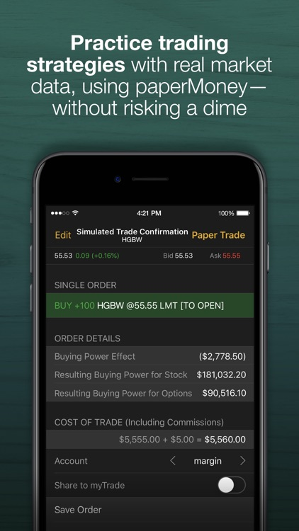 TD Ameritrade: Mobile Trader screenshot-3