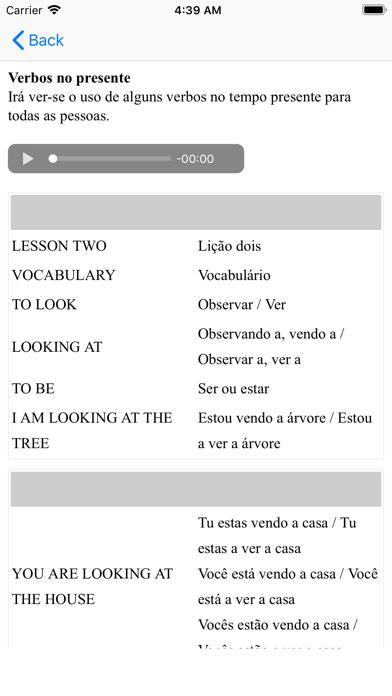 Curso De Inglês screenshot two
