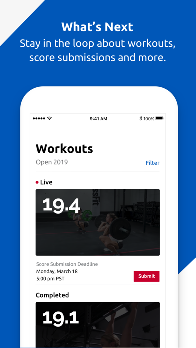 CrossFit Games screenshot