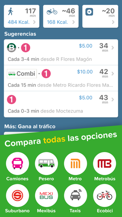 Screenshot for Citymapper - CDMX in Colombia App Store