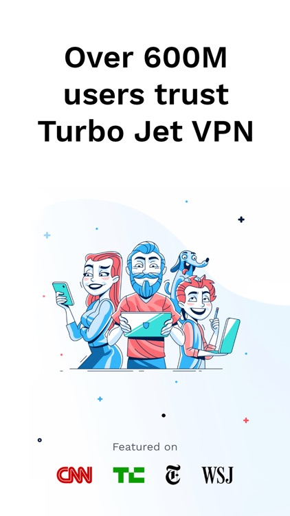 TURBO JET VPN & Wifi Proxy screenshot-0