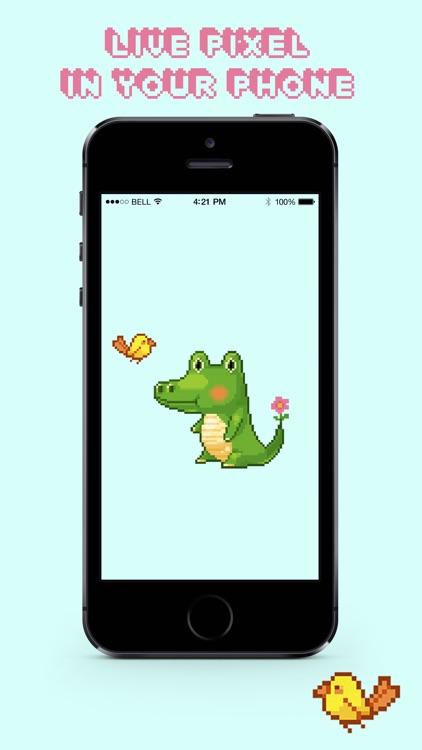 Craft Pixel Live Wallpapers screenshot-4