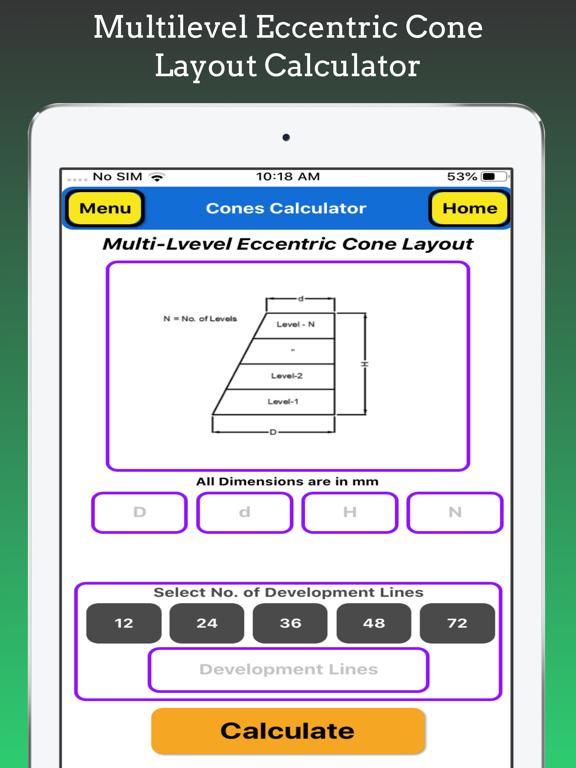 Cones Calculator Pro screenshot 19