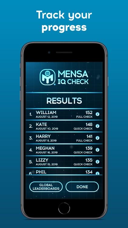 Mensa IQ Check screenshot-5