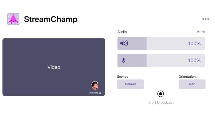 StreamChamp by AnjLab