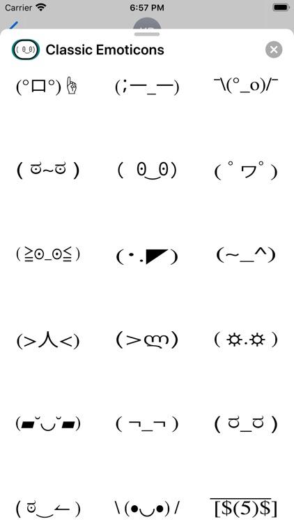 Classic Emoticons screenshot-3