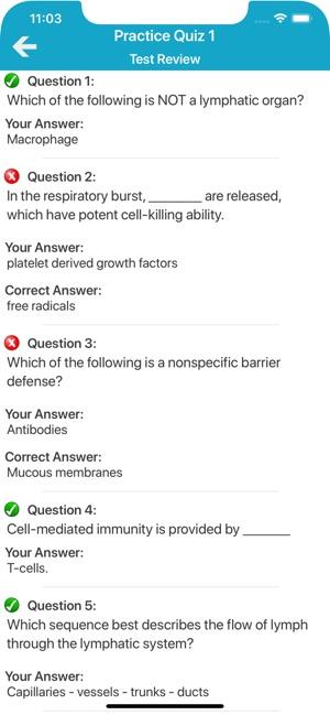 Human Immune System Quiz