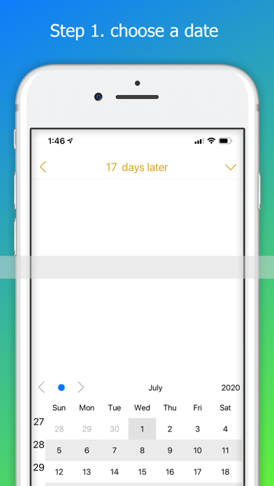 Count Date Memo - Counting day Screenshots