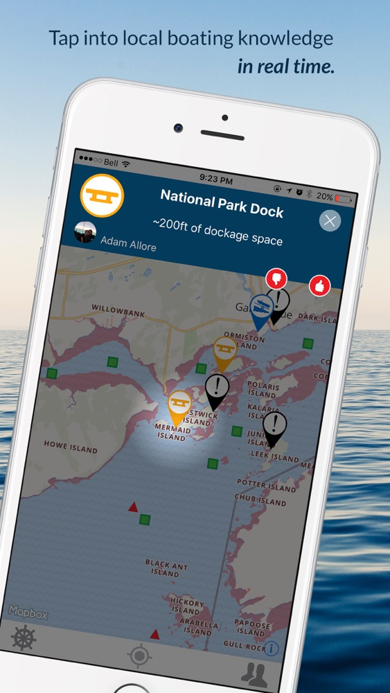 Wavve Boating-Easy Marine GPS App for iPhone - Free Download