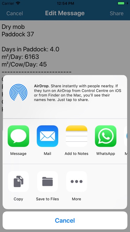Grazing Calculator screenshot-5