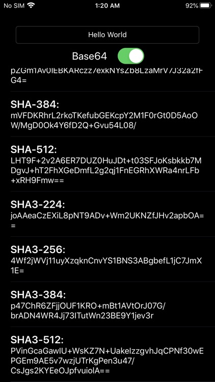 Hash Algorithm Generator screenshot-8