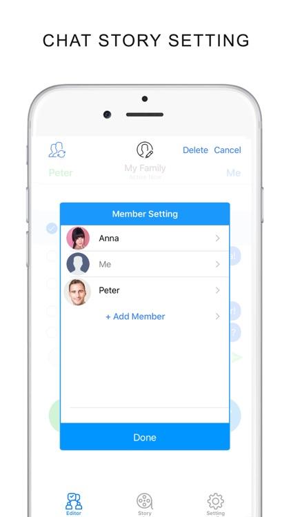 Fake Chat Story Video Creater screenshot-3