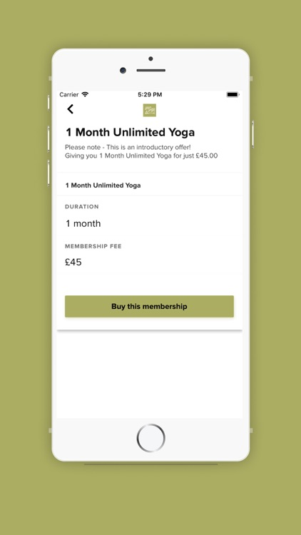 Your Yoga Experience