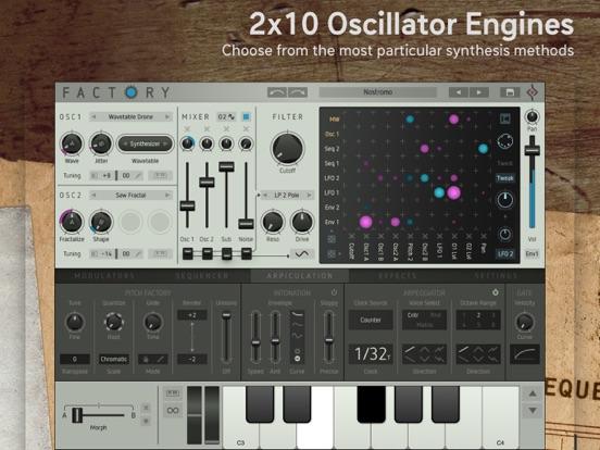 Factory - Modular Synthesizer screenshot 2
