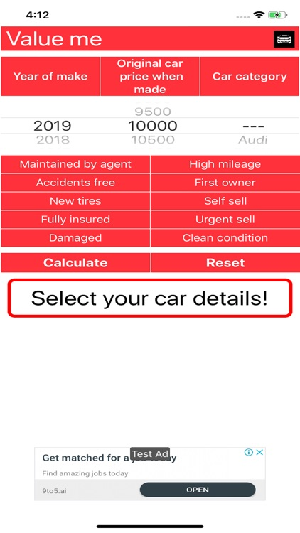 Value Me Car Depreciation By Mohamed Farhadi