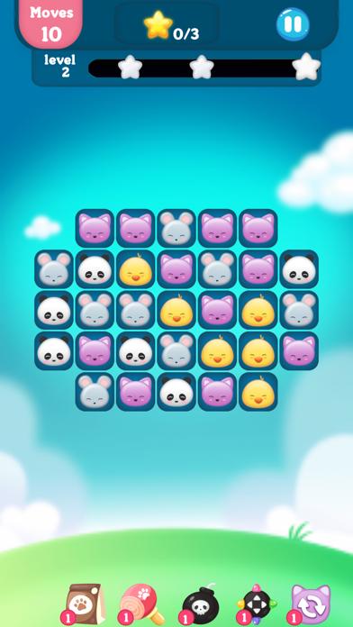 Screenshot for 动物消消乐园 - 萌宠快乐消消消 in Czech Republic App Store