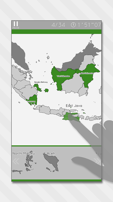 Enjoy L. Indonesia Map Puzzle