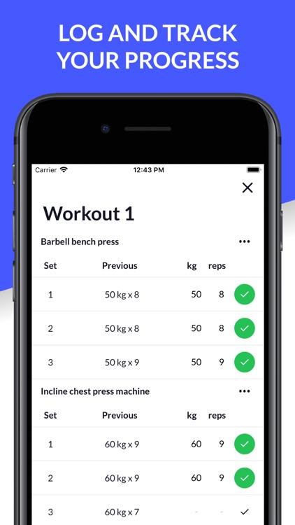 Gymfile - Gym Workout Tracker