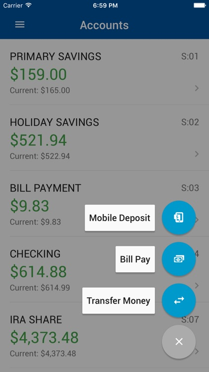 LAFCU Mobile Banking screenshot-2