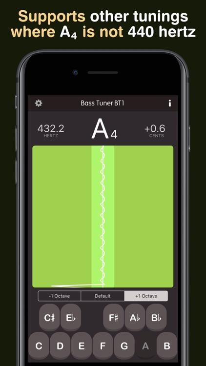 Bass Tuner BT1 screenshot-5