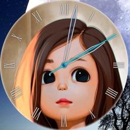 Analog Clock -Stand Face Clock