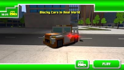 Blocky Cars In Real World screenshot 1
