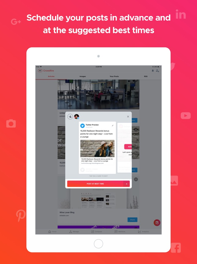 Crowdfire on the App Store