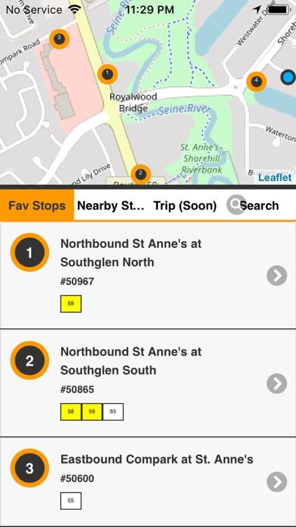 Winnipeg Transit RT - Bus Live screenshot-8